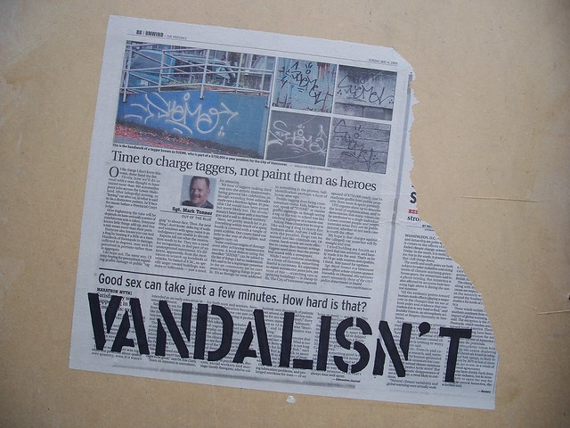 vandalisn't