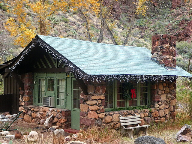 Merry Christmas & Happy Holidays - Phantom Ranch - Grand Canyon