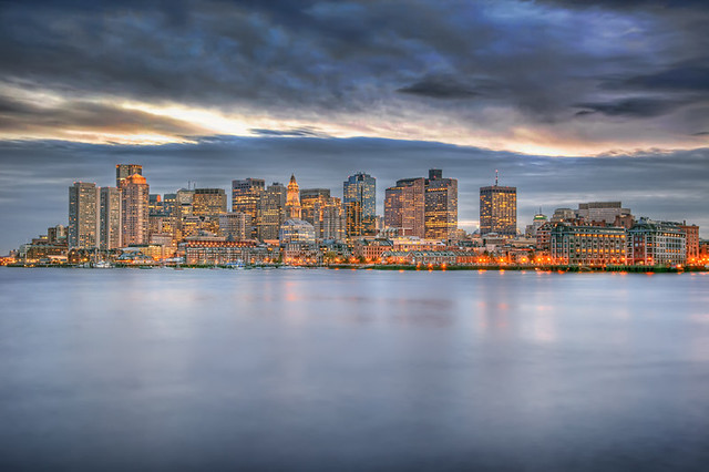 Boston Skyline .:HDR:.