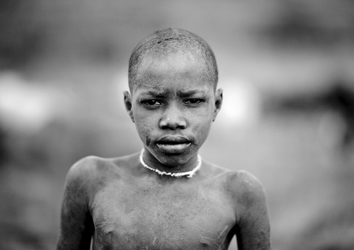 Boy from Surma - Ethiopia