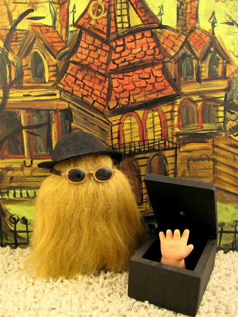 Addams Family Cousin It Amp Thing Doll Sized 5 Quot Tall