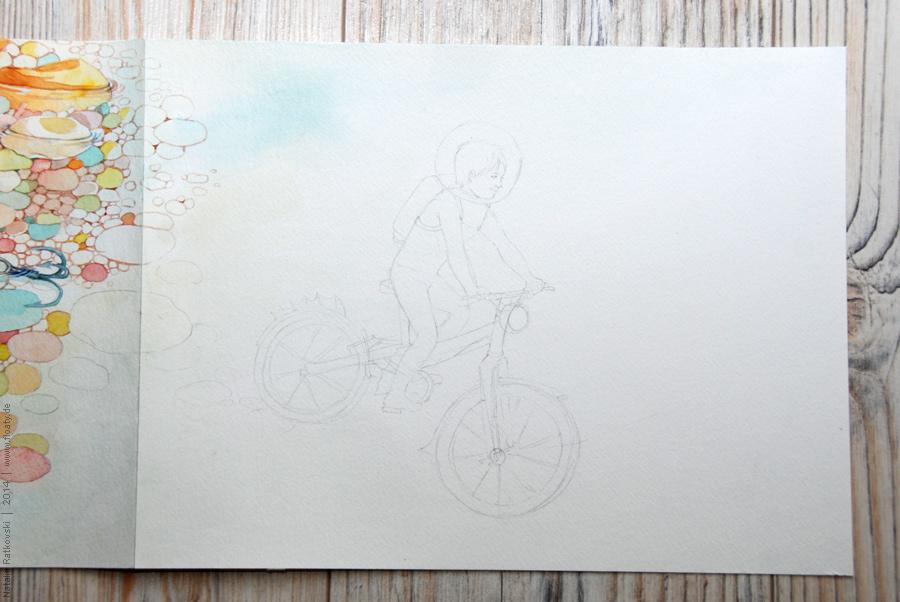 "My art project ""An endless book"""