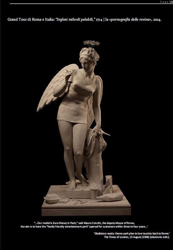 ROMA ARCHEOLOGIA & I FORI IMPERIALI: Flavia Barca, «Rivoluziono l'area archeologica Sarà il ritorno del Grand Tour» Corriere Della Sera, (09|03|2014), p. 2.
