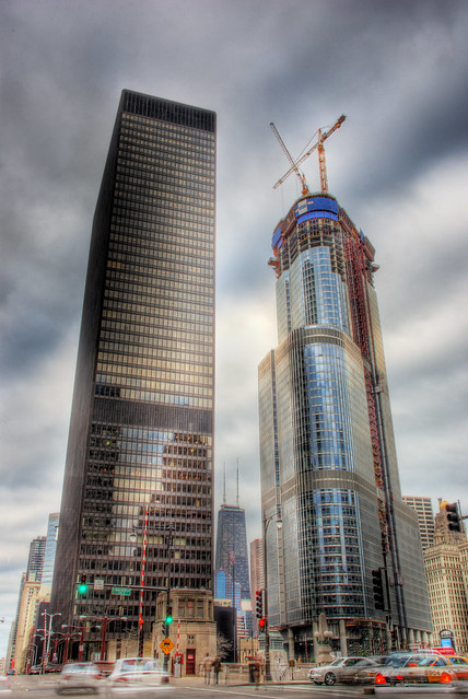 IBM Building and Construction of Trump Tower