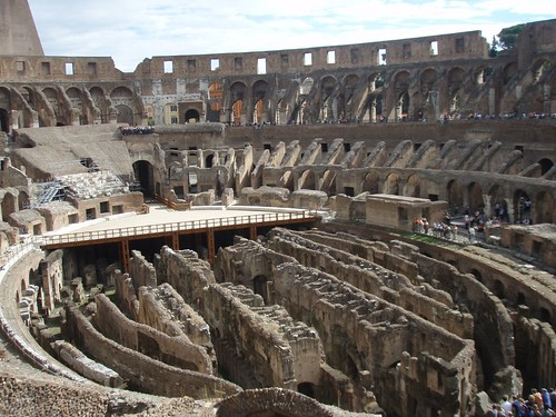 Colliseum inside