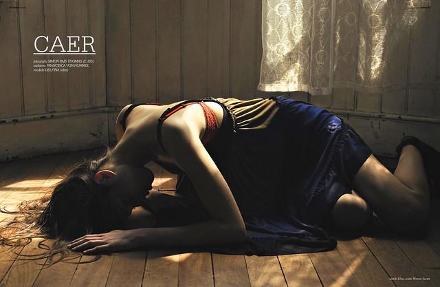 Simon Pais - CAER / Fashion Shoot BLANK Mag
