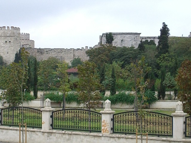 Old City Wall, Istanbul  [2497]
