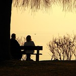 Sunset Talking by ventanium