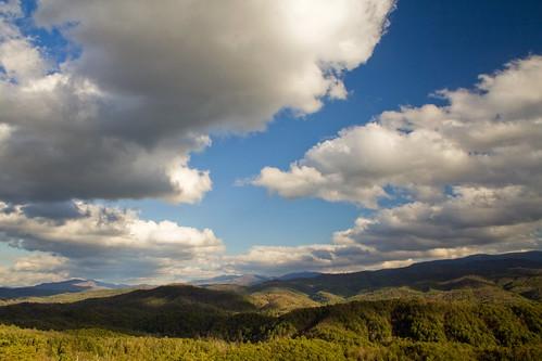 sunset mountains clouds nationalpark tennessee greatsmokymountains foothillsparkway greatsmokymountainsnationalpark