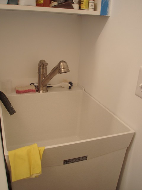new laundry sink and faucet flickr photo sharing