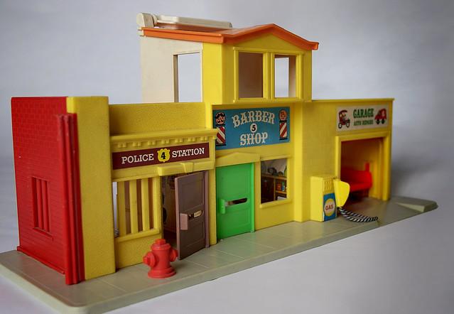 Police Station, Barbershop & Garage Inside | Flickr ...