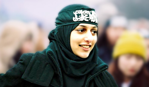 Pretty Muslim Young Lady