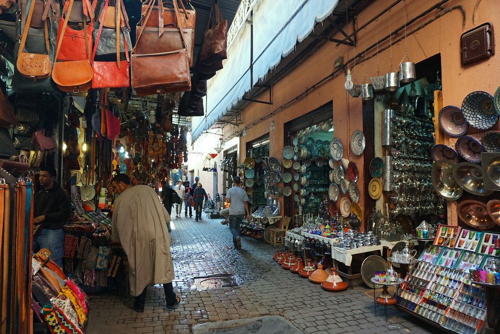 Marrakech's souq