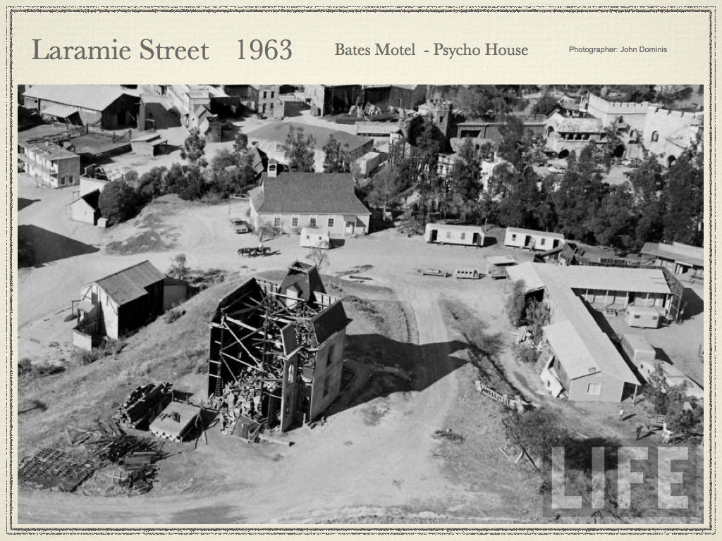 Laramie Area Universal Studios Backlot Psycho House