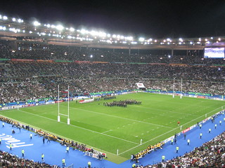 National anthems for the RWC Final