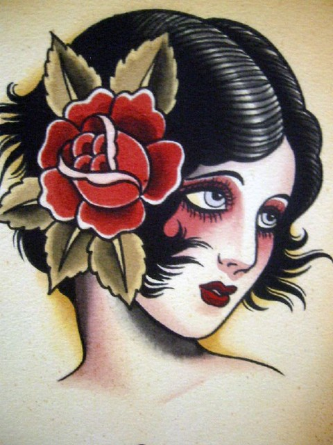 Vintage Tattoo Flash Art 95