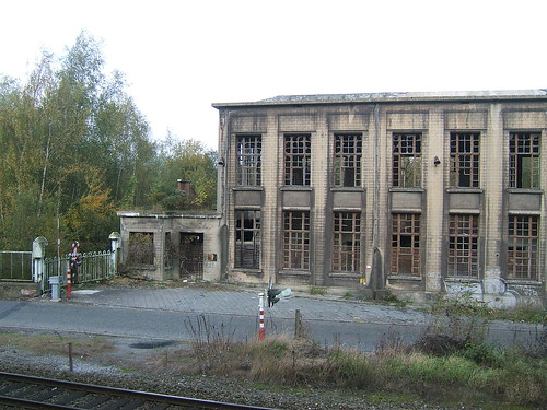 Decaying factory near the Zône