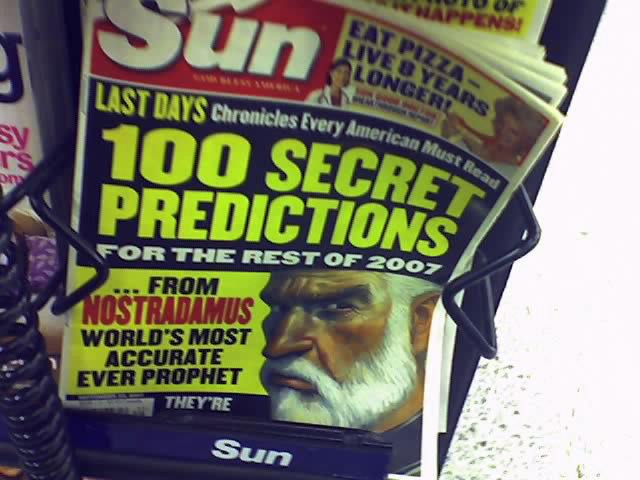 100 Secret Predictions from Flickr via Wylio