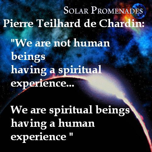 We Are Spiritual Beings Having a Human