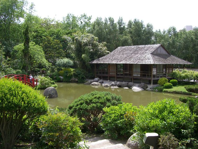 Vue g n rale du jardin japonais flickr photo sharing for Bd du jardin botanique