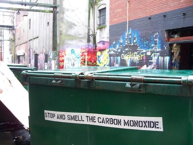 dumpster back