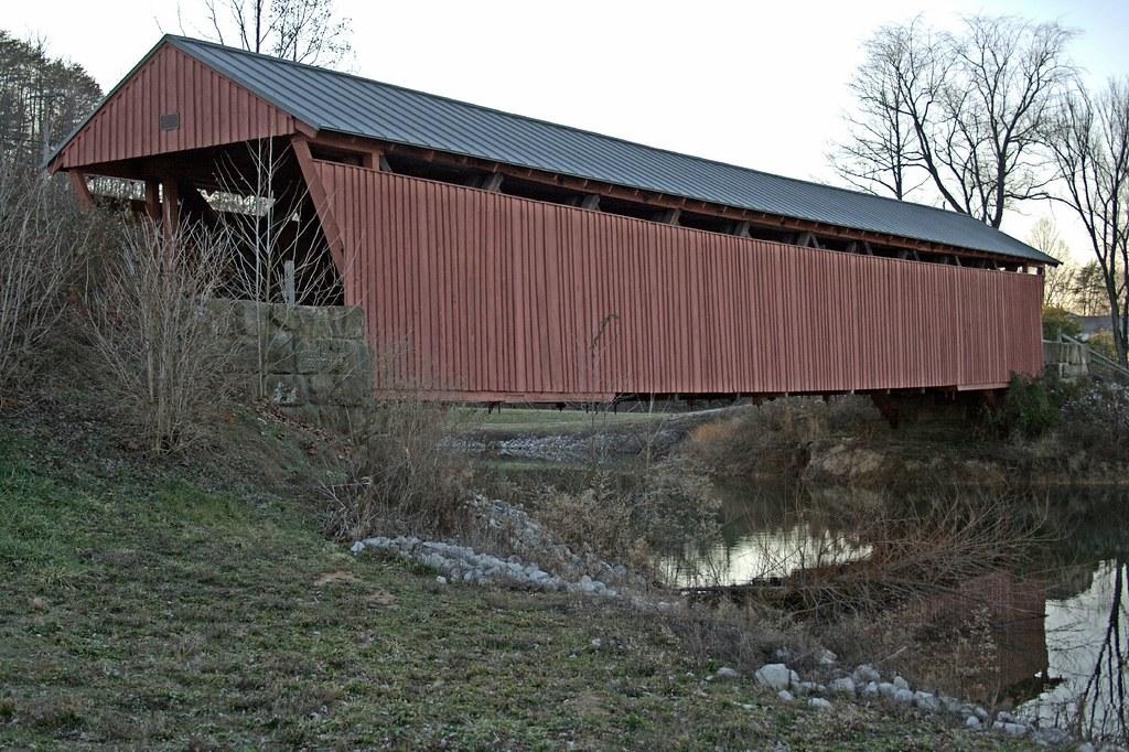 Covered Bridge Milton WV
