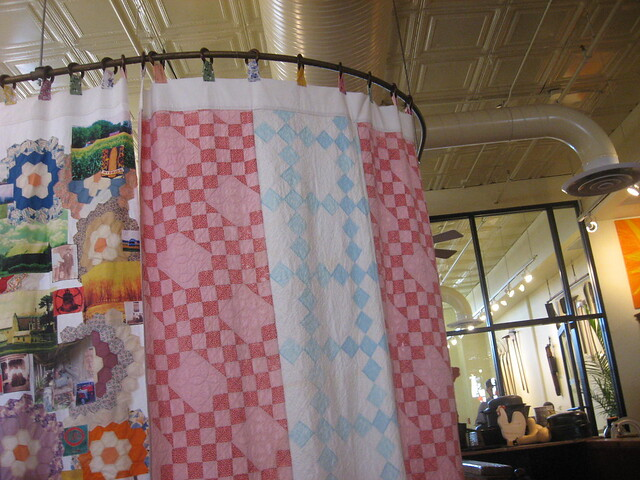 UH, QUILTED SHOWER CURTAIN | Flickr - Photo Sharing!