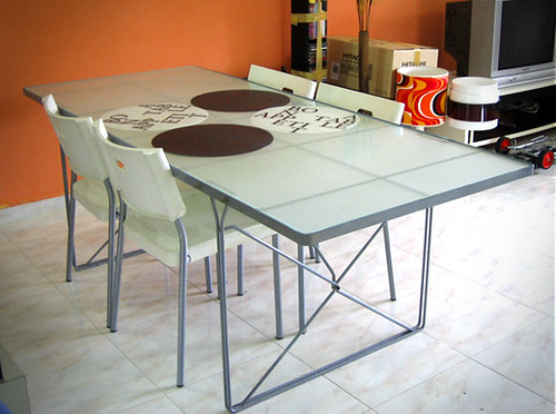 Ikea Tempered Glass Dining Table $150