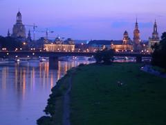 Dusk in Dresden