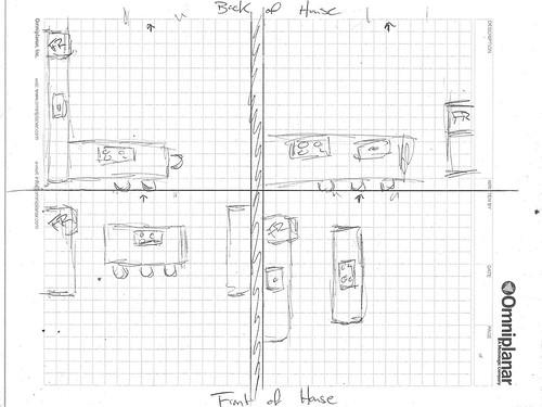 The urban kitchen design project minimalist green for Efficient kitchen layout