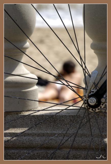 Excusat per una roda de bicicleta