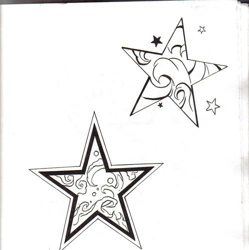 aocatihir star outline tattoo. Black Bedroom Furniture Sets. Home Design Ideas