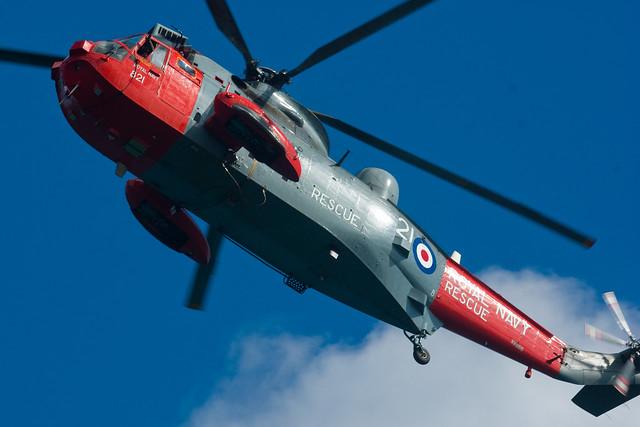 Header of air-sea rescue