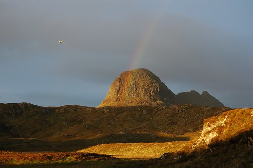 Rainbow over Suliven