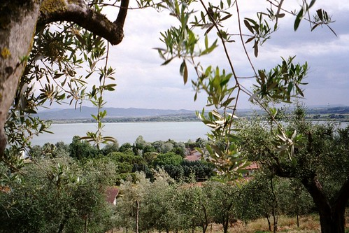 view of Lago Trasimeno