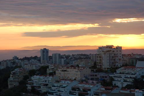 sunrise dawn israel cloudy carmel haifa ישראל חיפה כרמל naamatstreet רחובנעמת naamatst david55king