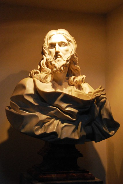 Jesus by Bernini   Apparently it was only recently ...