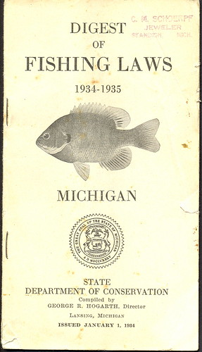Flickriver upnorth memories donald don harrison 39 s for Michigan dnr fishing guide
