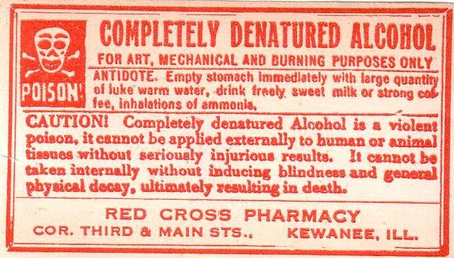 how to make denatured alcohol