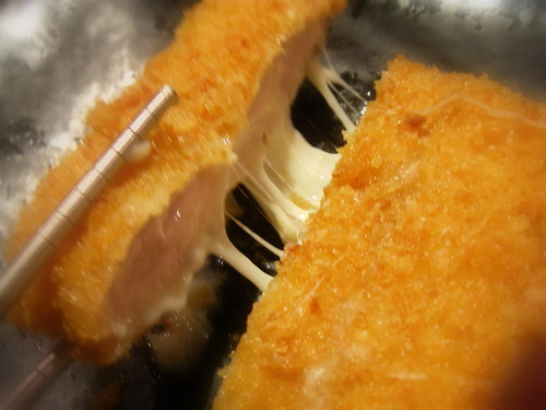 馬茲拉瑞起士里脊肉豬排套餐