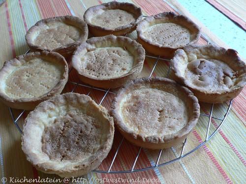 Süße Torteletts bzw. Mürbeteigtörtchen