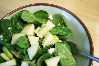 Spinach & Green Apple Salad 04.06.08 | by ccharmon