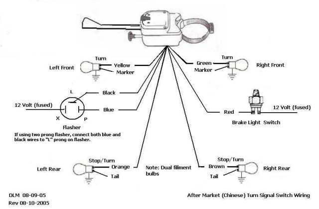 wire flasher wiring diagram wiring diagram turn lamp wiring image wiring diagram vintage turn signal switch wiring diagram vintage wiring