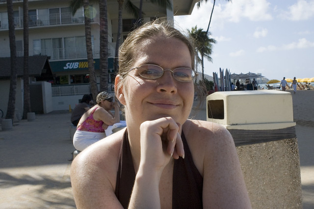 Diana at Waikiki