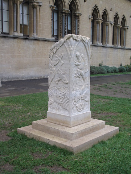 Obelisk, Museum of Natural History, Oxford.
