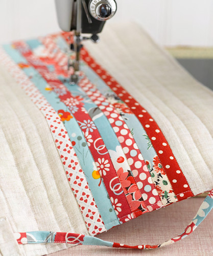 I Love Patchwork Preview - Sewing Machine Cover