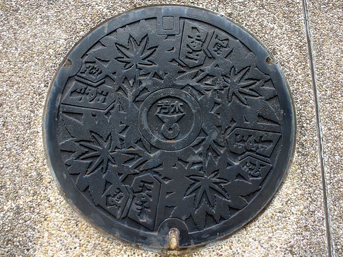 Tendo Yamagata manhole cover(山形県天童市のマンホール)