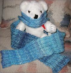 Blue Moon Corrugator scarf