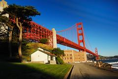 Golden Gate Bridge - Sun Rise, 金门大桥 - 日升