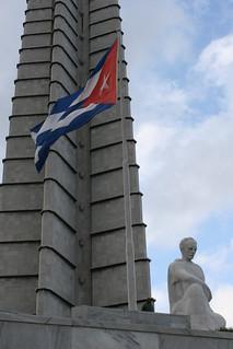 Image of José Martí Memorial near Havana. havana cuba josemarti